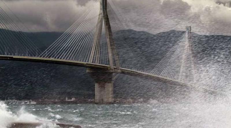 Αποτέλεσμα εικόνας για νταλικα γεφυρα ριου